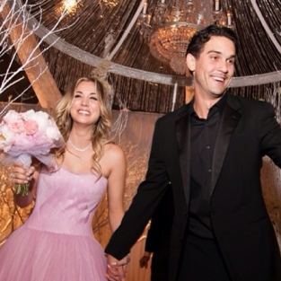 Kaley Cuoco, Ryan Sweeting Wedding Pic