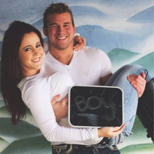Jenelle Evans with Nathan Griffith Photo