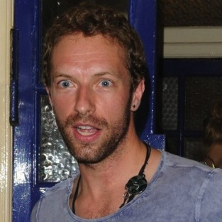 Chris Martin Smiling Photo