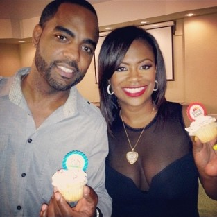 Kandi Burruss and Todd Tucker Photo