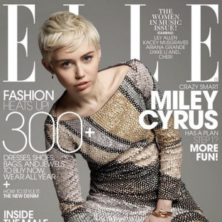 Miley Cyrus on Elle