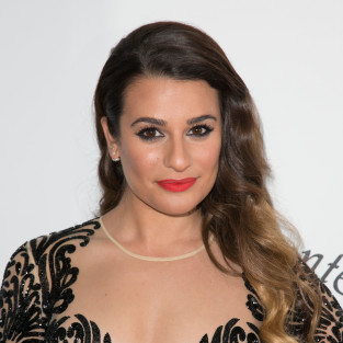 Lea Michele Gets Fancy