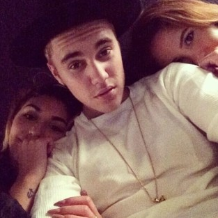 Justin Bieber With Chantel Jeffries