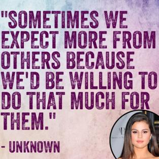 From Selena Gomez instagram