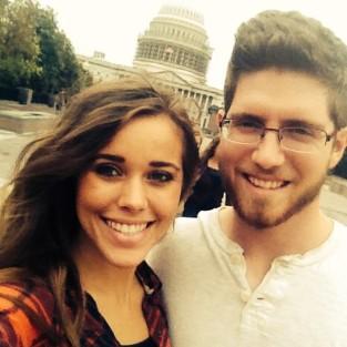 Jessa Duggar and Ben Seewald in DC