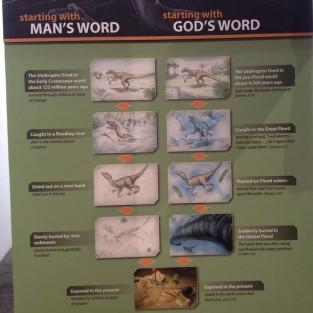 Jessa Duggar Creationism Post