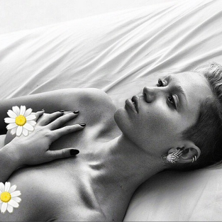 Miley Cyrus and Daisy Nipples