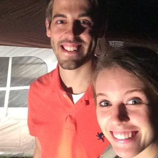 Jill and Derick Camping