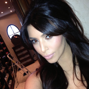 Another Kim Kardashian Selfie