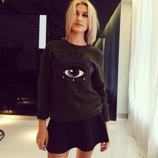 Hailey Baldwin at  Shoot