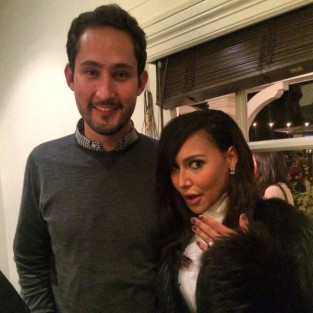 Naya Rivera and Kevin Systrom