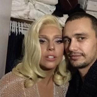 James Franco Lady Gaga Photo