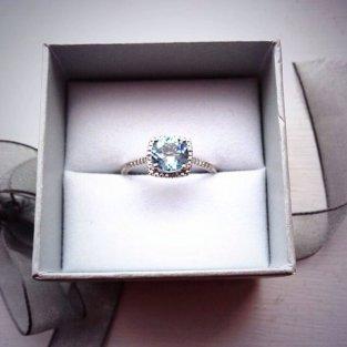 Jenelle Evans Engagement Ring Photo