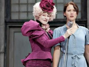 Effie and Katniss