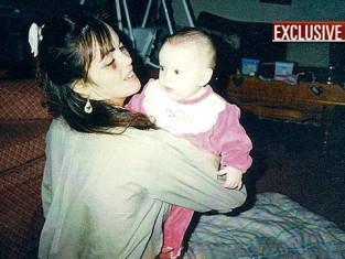 Dina Lohan, Black Eye, Baby Lindsay