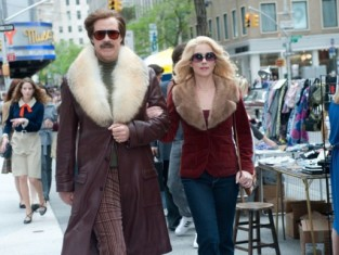 Will Ferrell and Christina Applegate in Anchorman 2 Photo