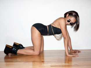 Kat Graham on All Fours