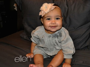 North West on Ellen
