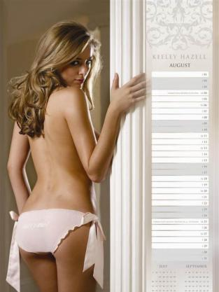 Keeley Hazell Naked Pic