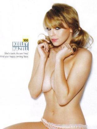 Topless Keeley Hazell