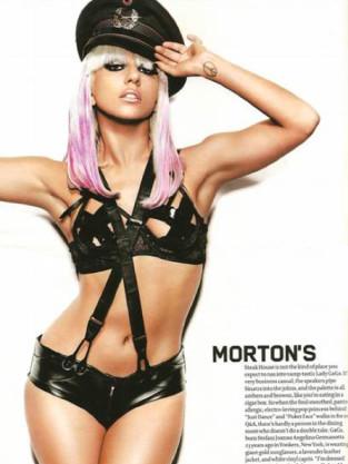 Lady Gaga Maxim Pic