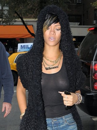Rihanna Nipple Ring