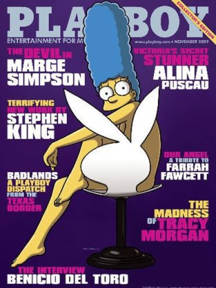 Marge Simpson Nude