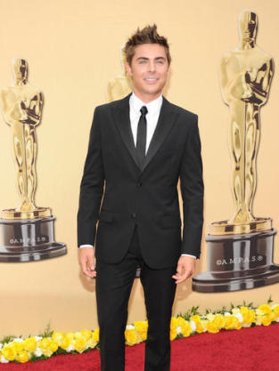 Zac at the Oscars