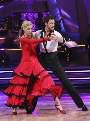 Erin and Maksim Dancing