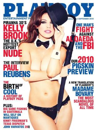 Kelly Brook on Playboy
