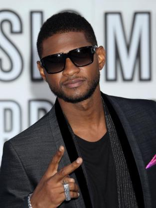 Usher at the VMAs
