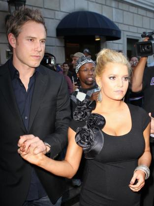 Jessica Simpson and Eric Johnson Picture