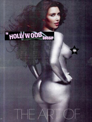 Kim Kardashian Nude Picture