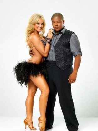 Kyle Massey and Lacey Schwimmer