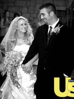 Leah Messer, Corey Simms Wedding Pic