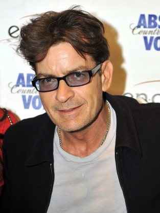 Charlie Sheen in Chicago