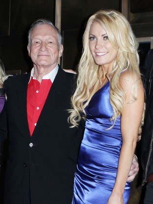 Hugh Hefner and Crystal Harris Picture