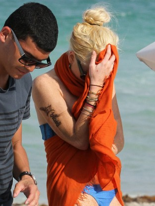 Lindsay Lohan, New Tattoo