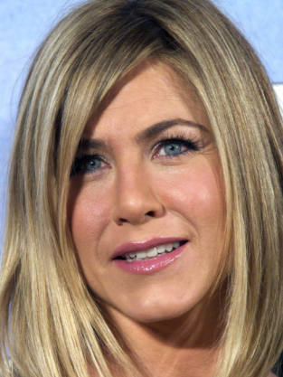 Aniston Up Close