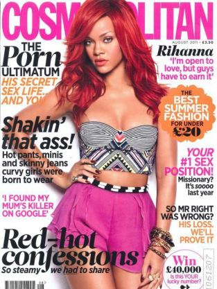 Rihanna Cosmo Cover (UK)