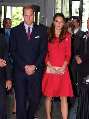 Kate, William in Canada