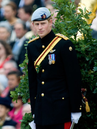 Harry in Uniform