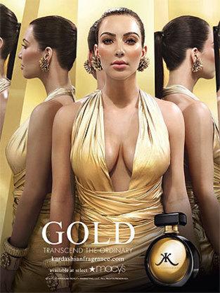 Kim Kardashian Fragrance Ad