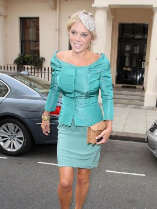 Chelsy Davy at Royal Wedding