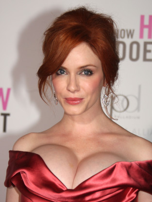 Christina Hendricks Cleavage
