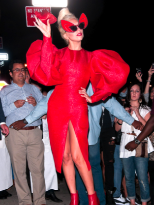 Lady Gaga Devil Outfit