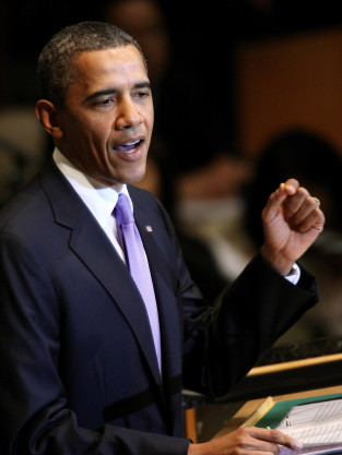 Barack Obama at the UN
