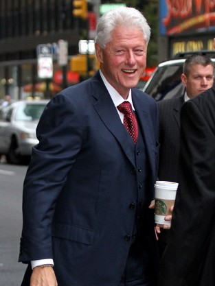 Bill Clinton in NYC