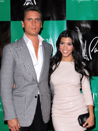Kourtney Kardashian and Scott Disick Picture