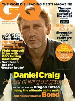 Daniel Craig British GQ Cover